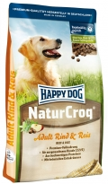 Happy Dog Natur Crock Rind & Rice  száraz kutyaeledel